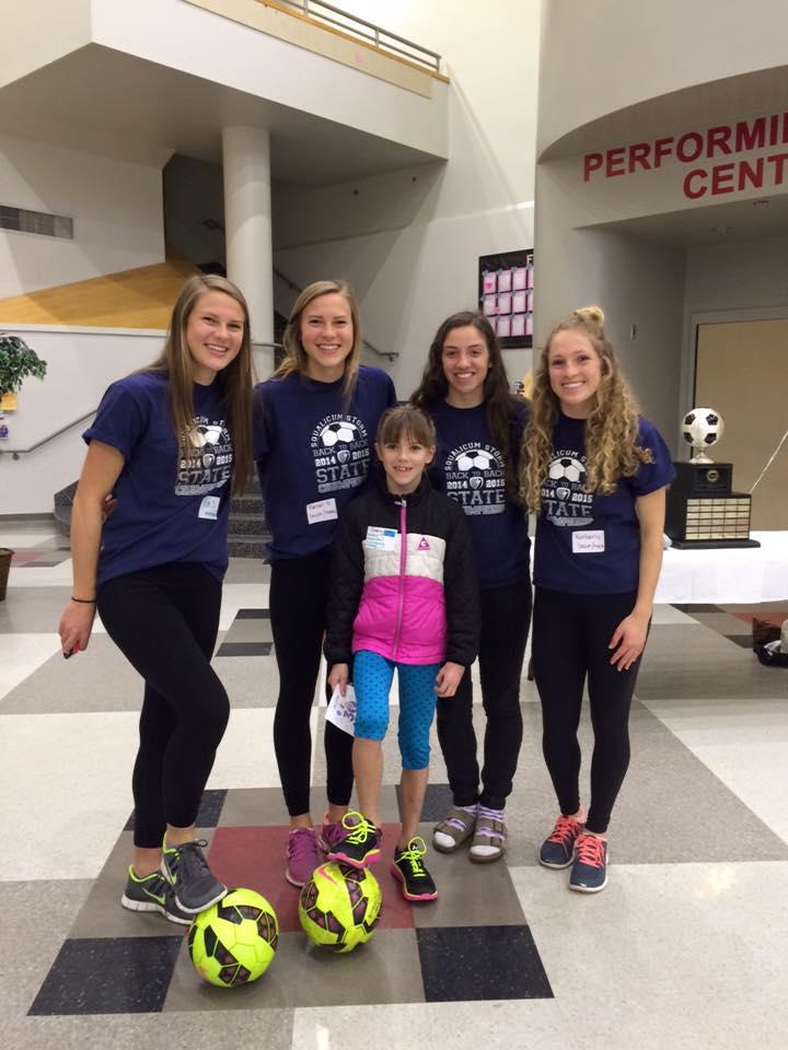 Squalicum Girl's Soccer Team