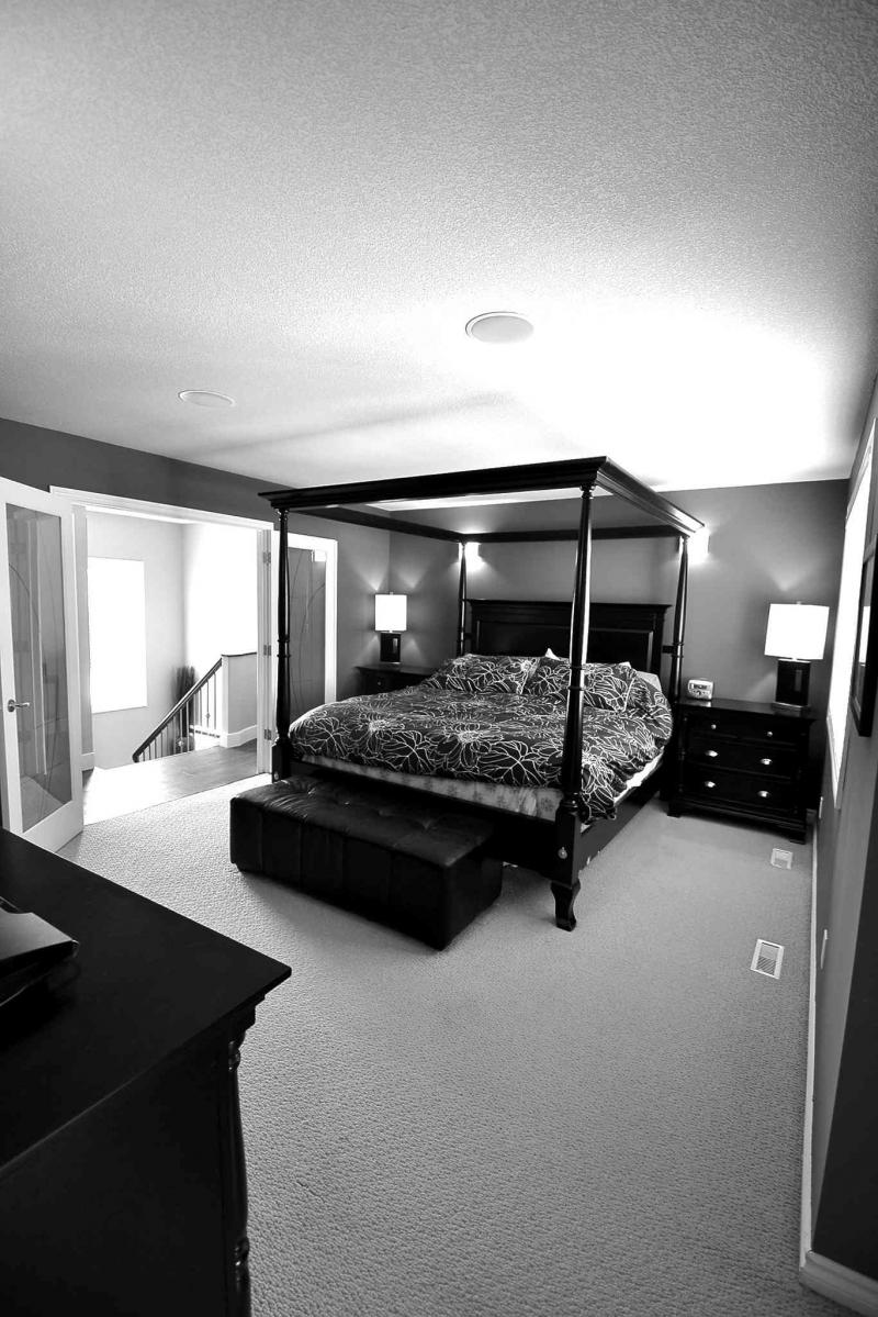 A big, bright and elegant space, the privately positioned master suite is a true retreat.