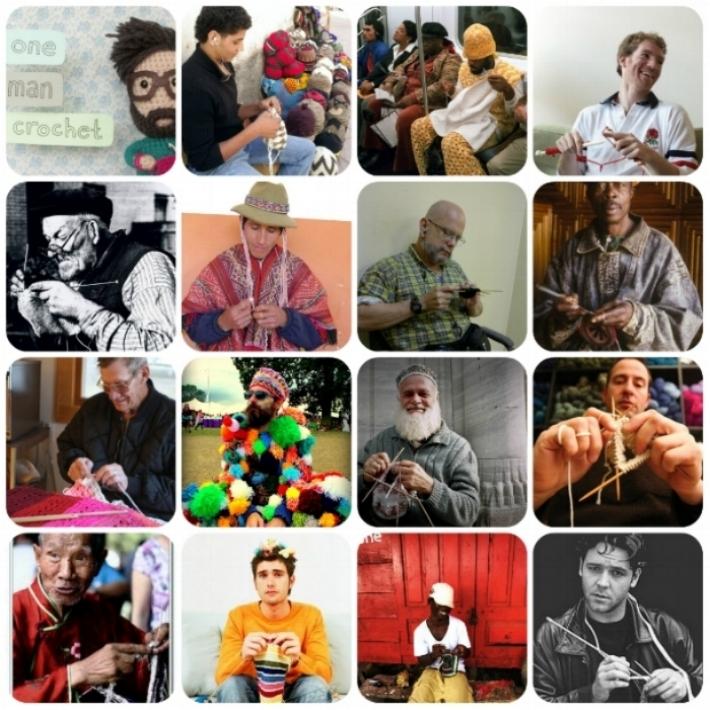 MEN who Crochet