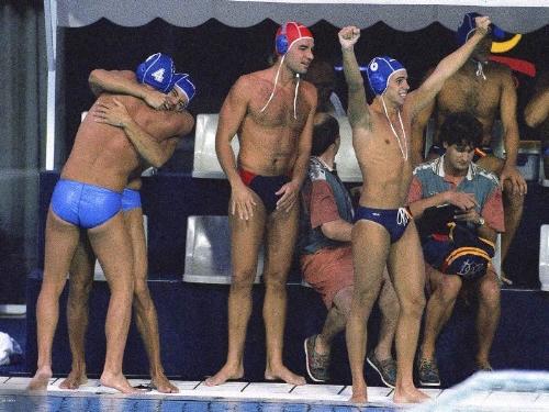 1992 Olympic American Water Polo Team in Barcelona.jpg