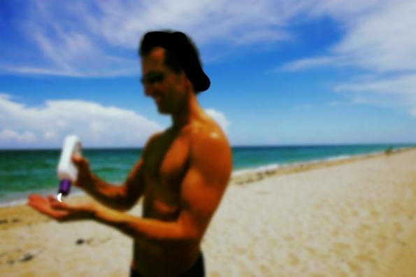Sunscreen & Beach Sun