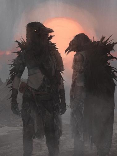 Men of Mythic Bird