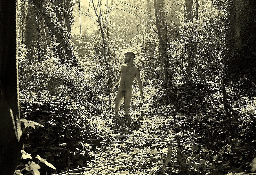 Man in nature