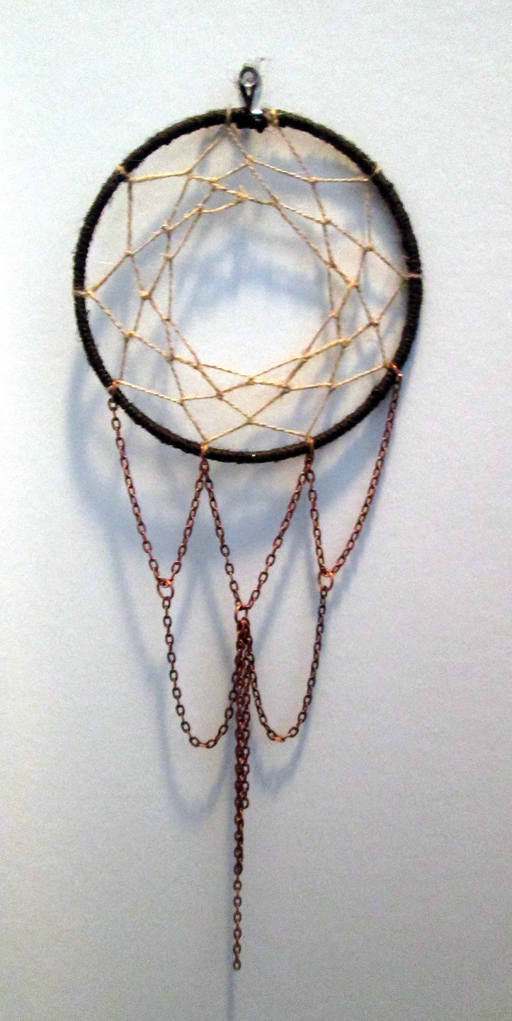 Copper and twine