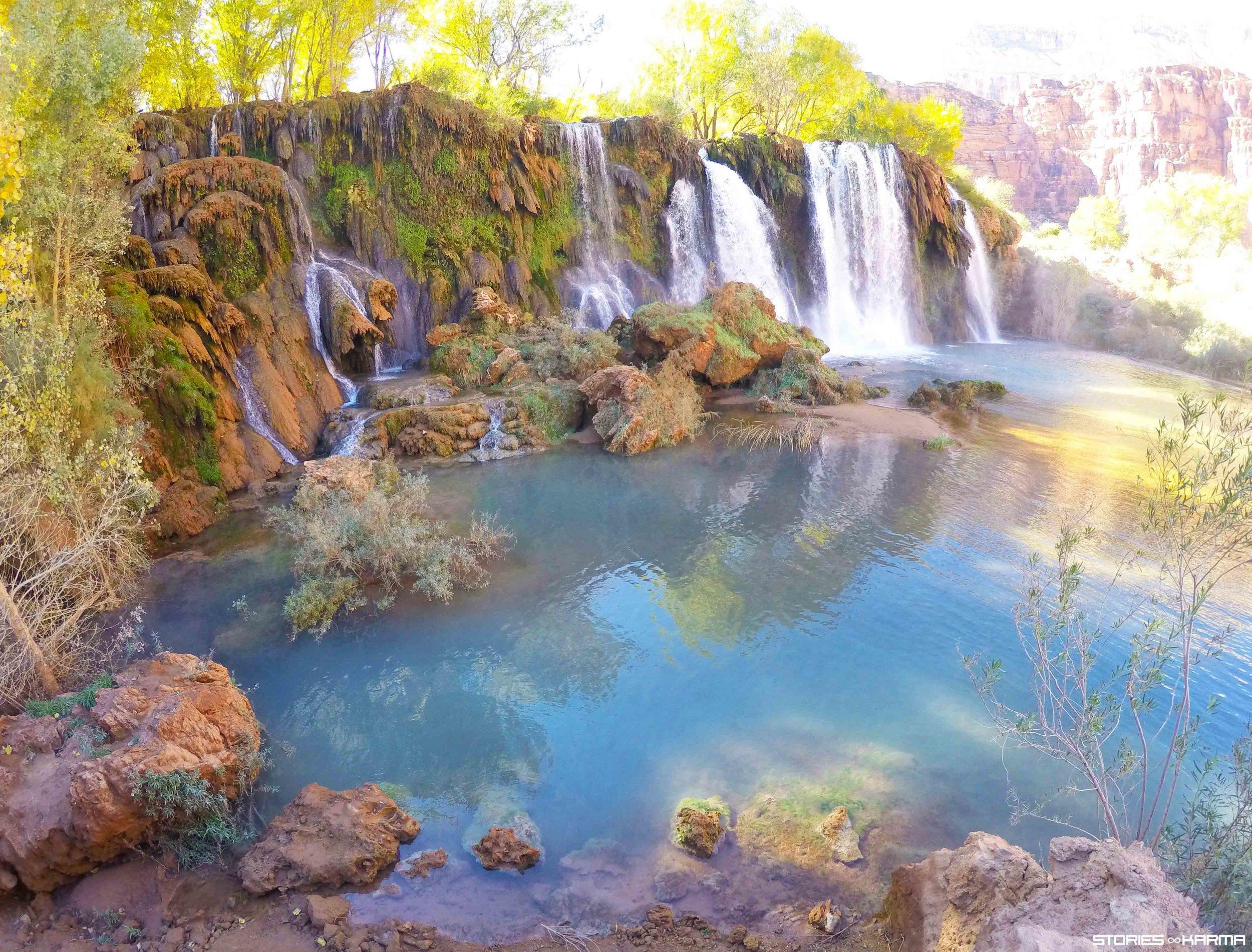 Upper Navajo Falls