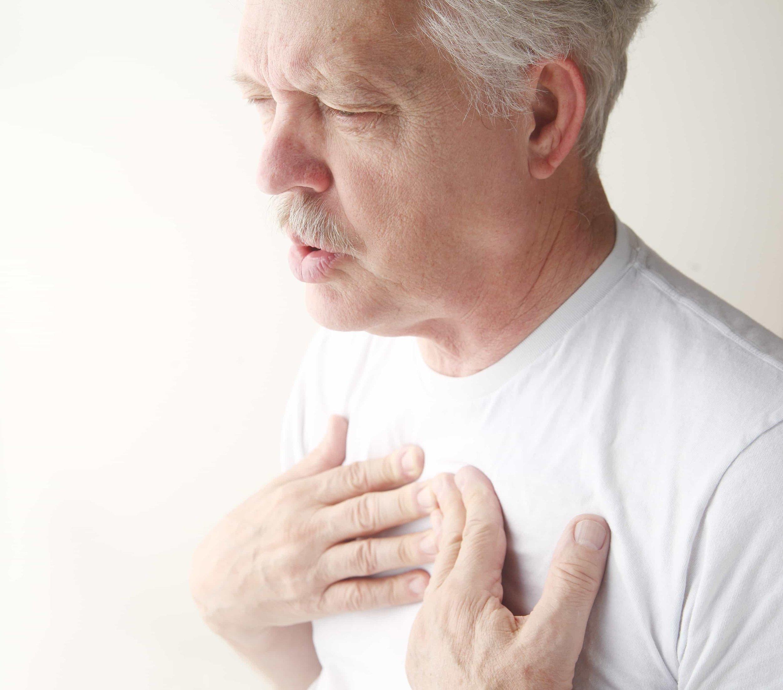 Man who needs Pulmonary Rehab