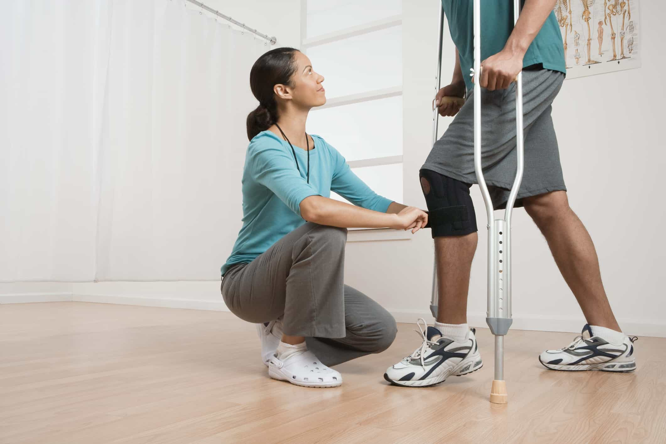 recovering from knee replacement surgery