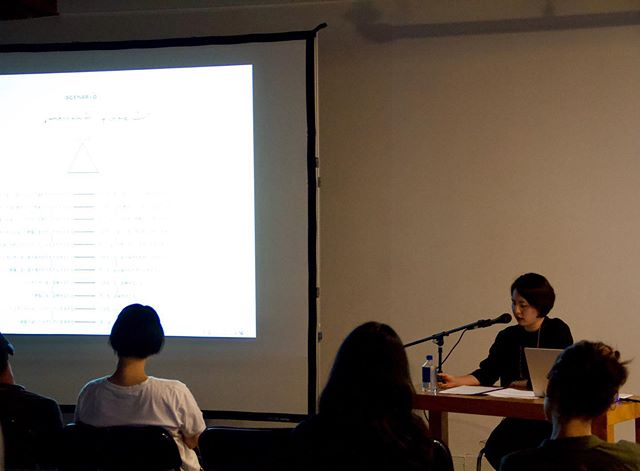 Thank you to Haeyun Park, who traveled from Seoul to Portland last week to participate in our lecture series. In her talk, Park outlined the development of video art in the 1970s and 1980s through a trans-Pacific lens, highlighting the work of Japanese and Korean artists like Yamanaka Nobuo and Park Hyunki as early pioneers of a medium still emerging.