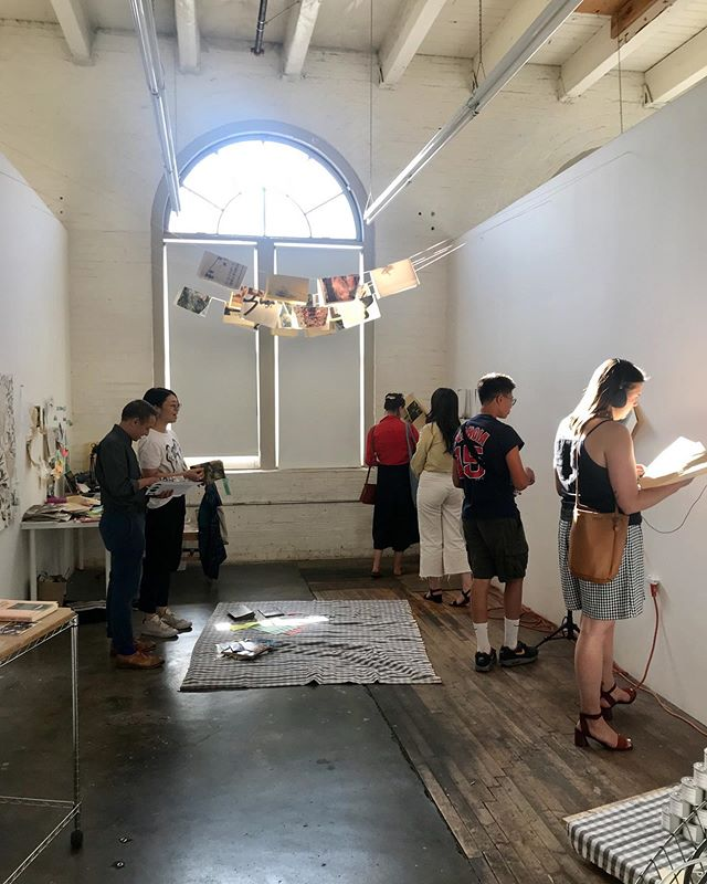 Belated thanks to everyone who came out to the End of Summer Open Studio! Documentation of all the artists' work coming soon for those who couldn't make it.