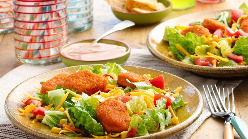 Fiery Chicken Salad -