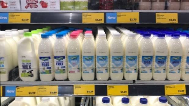 ALDI has lifted the price of its homebrand milk another 10 cents a litre on top of the March 10-cent increase, bringing 1L of milk to $1.29.