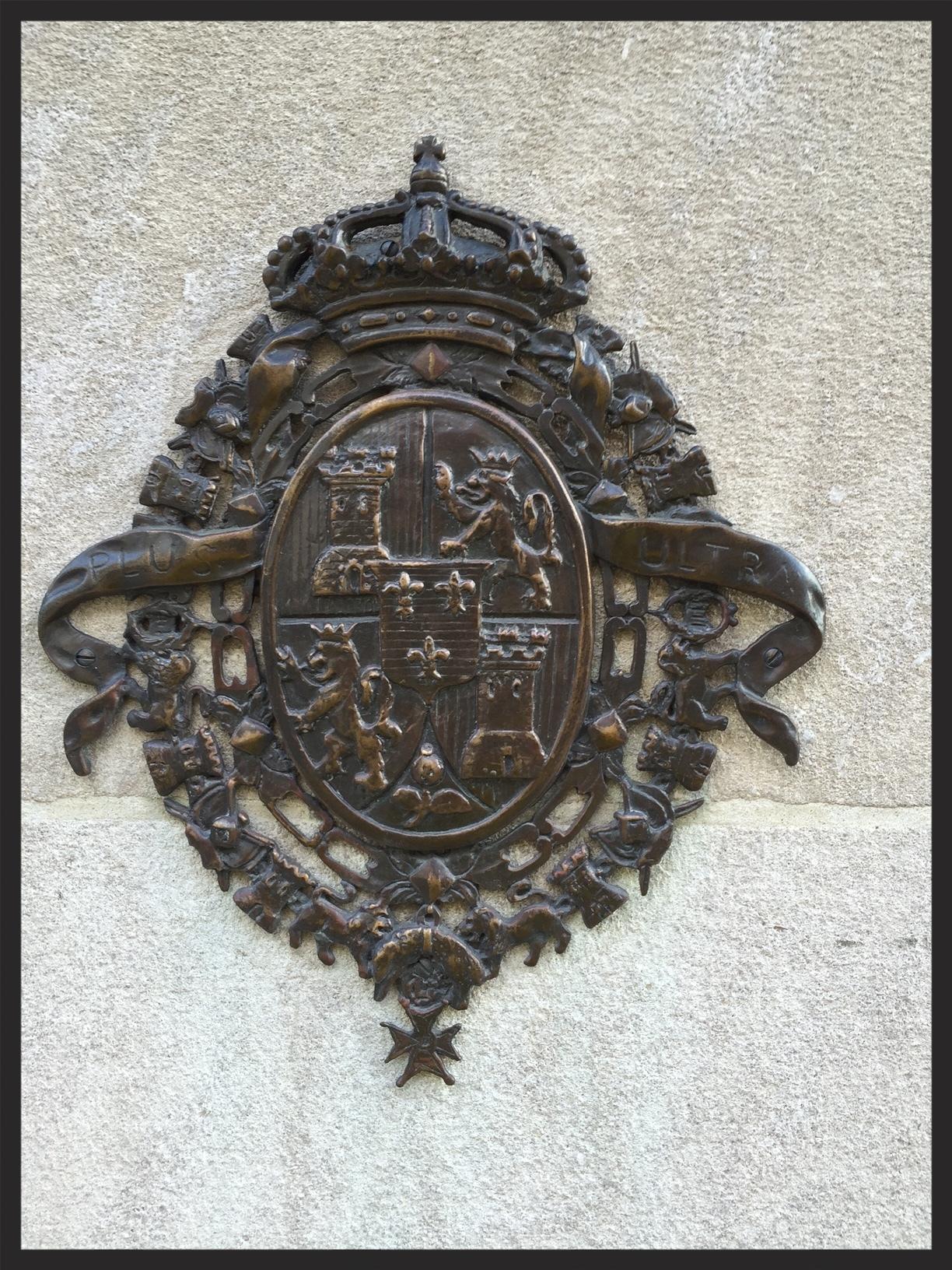 Spanish Coat-of-Arms outside of the Mayflower Hotel, Washington, DC
