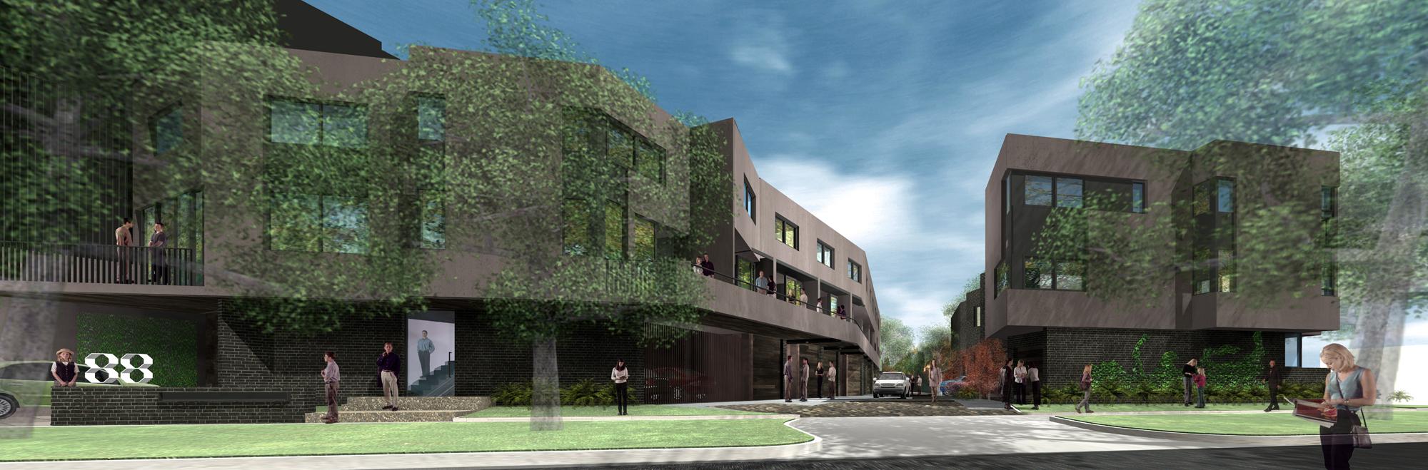 Octo Terraces Concept 2010