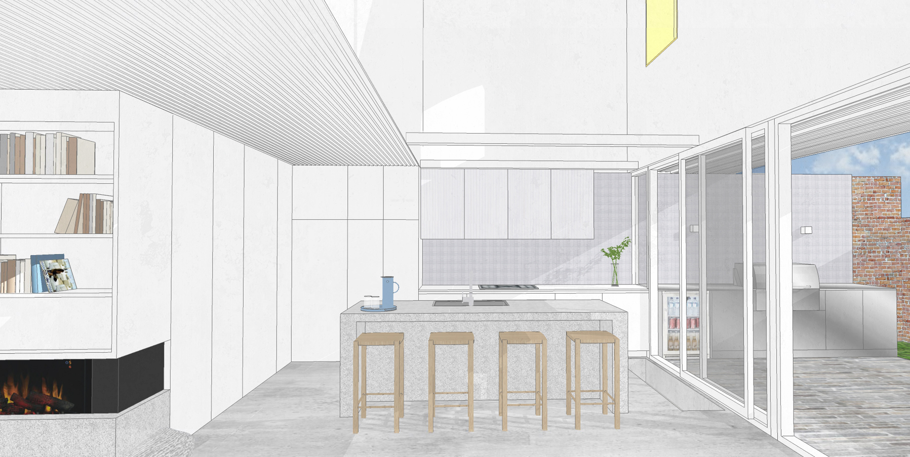 Bower Architecture_South Melbourne_Work In Progress