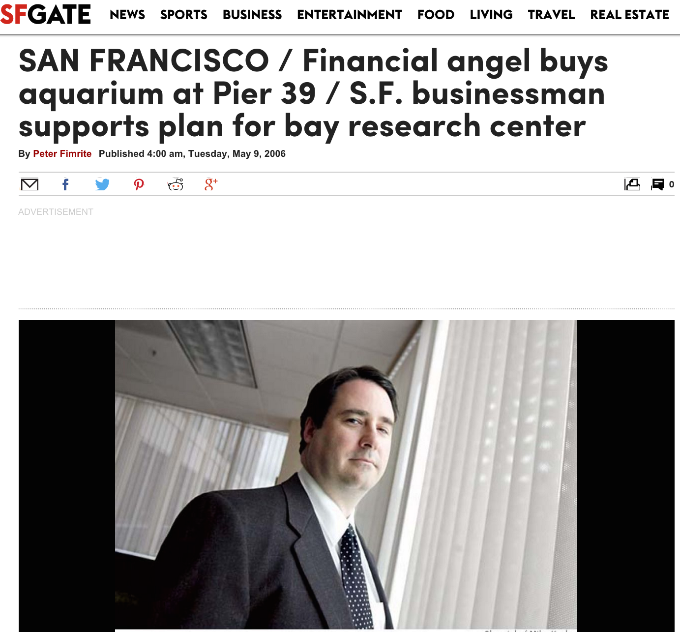 Financial angel buys aquarium at Pier 39