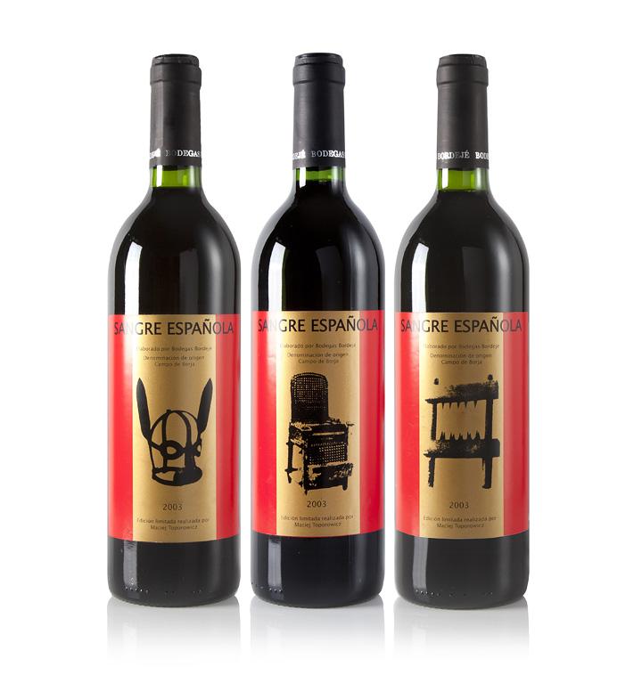 Maciej Toporowicz,  Sangre Espanola , 2003, wine edition