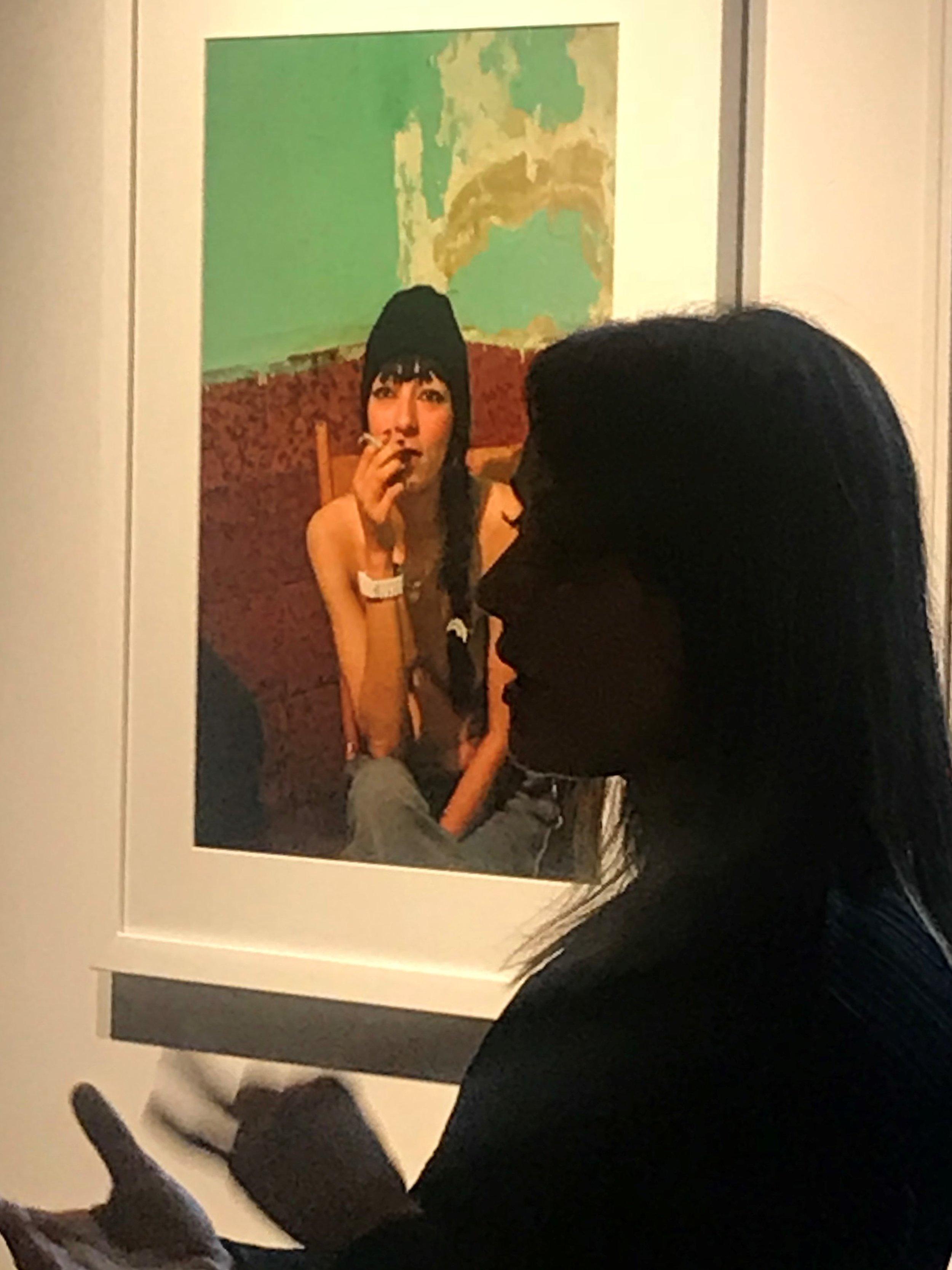 Ada Trillo talks to students of Department of Anthropology, John Jay College_The Un-Heroic Act_Sept. 26 2018. Photo Monika Fabijanska