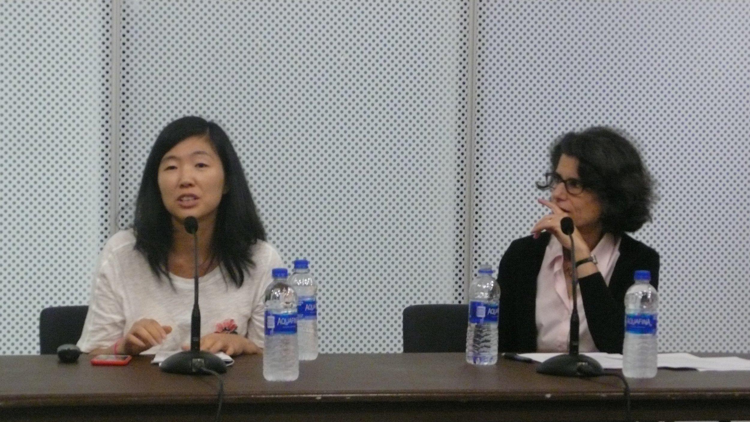 Bang Geu Han, Nancy Princenthal_The Un-Heroic Act_Symposium_Oct. 3 2018_2. Photo Jerzy Warman