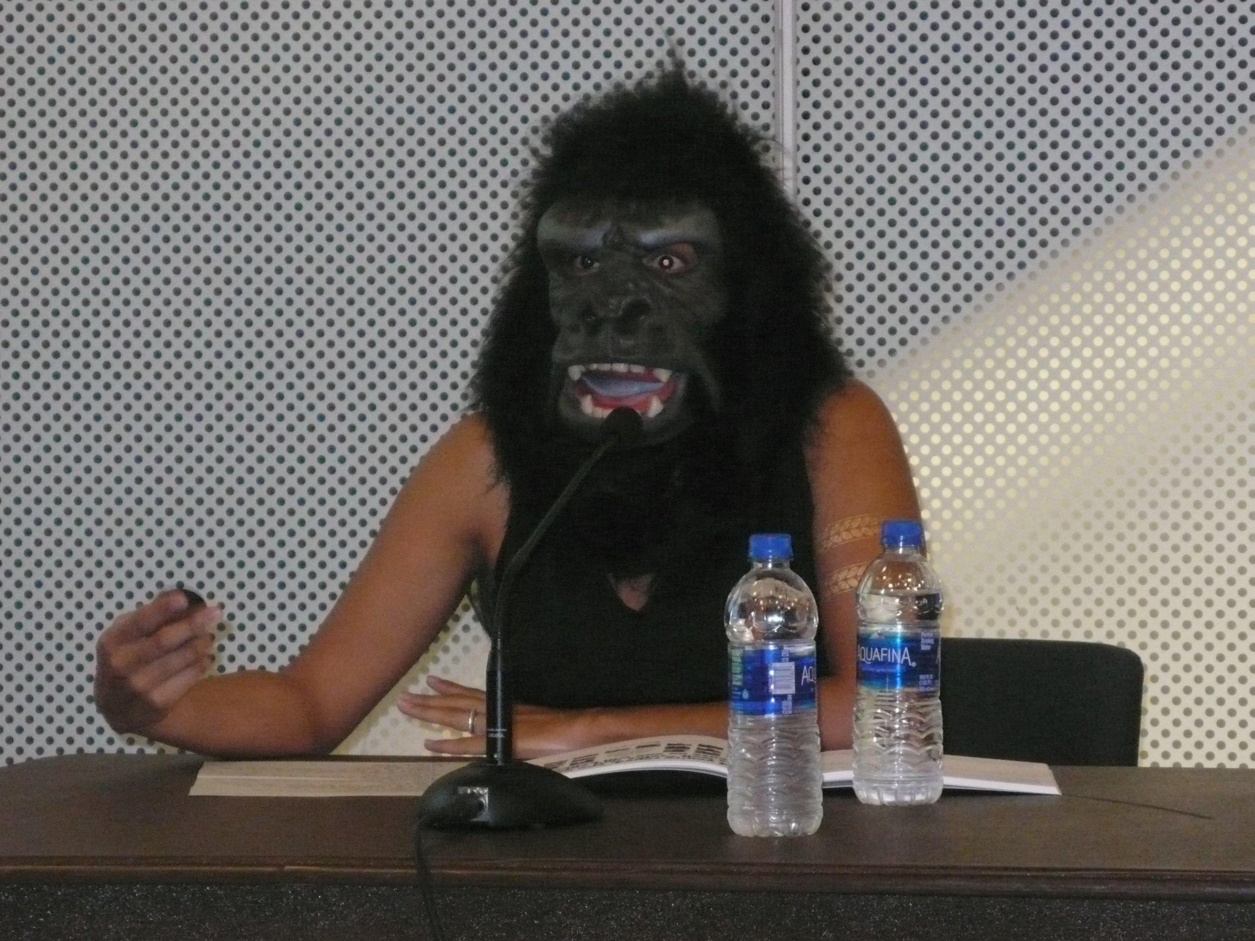 Zubeida Agha of Guerrilla Girls__The Un-Heroic Act_Symposium_Oct. 3 2018. Photo Jerzy Warman