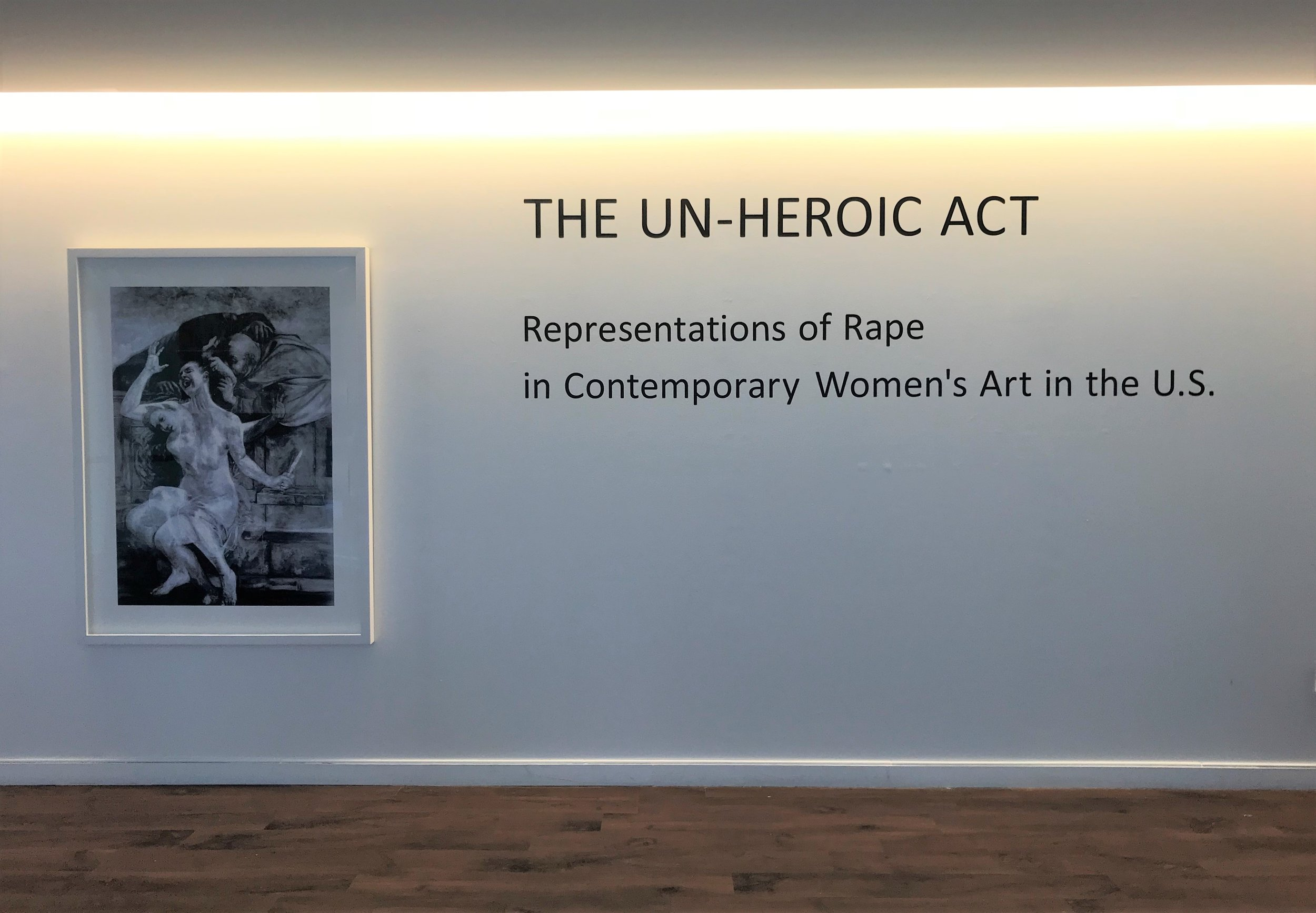 5_Kathleen Gilje, Susanna and the Elders, Restored, 1998-2018, installation view, The Un-Heroic Act, Shiva Gallery JJC. Photo Monika Fabijanska