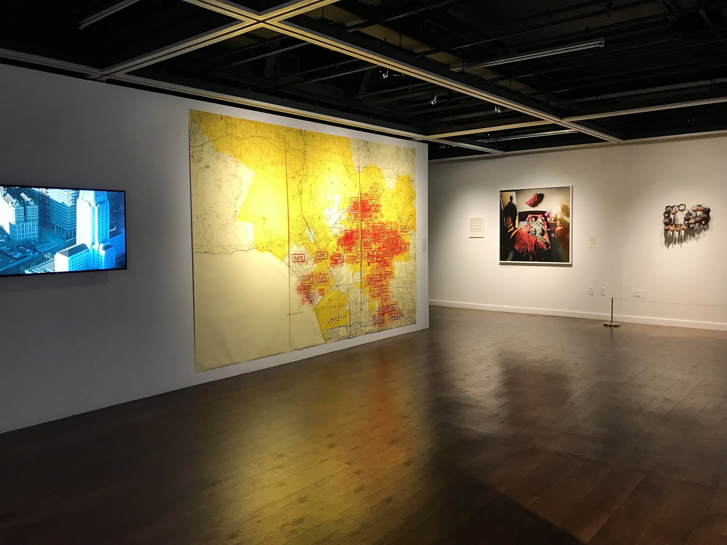 17_installation view, The Un-Heroic Act, Shiva Gallery JJC. Photo Monika Fabijanska