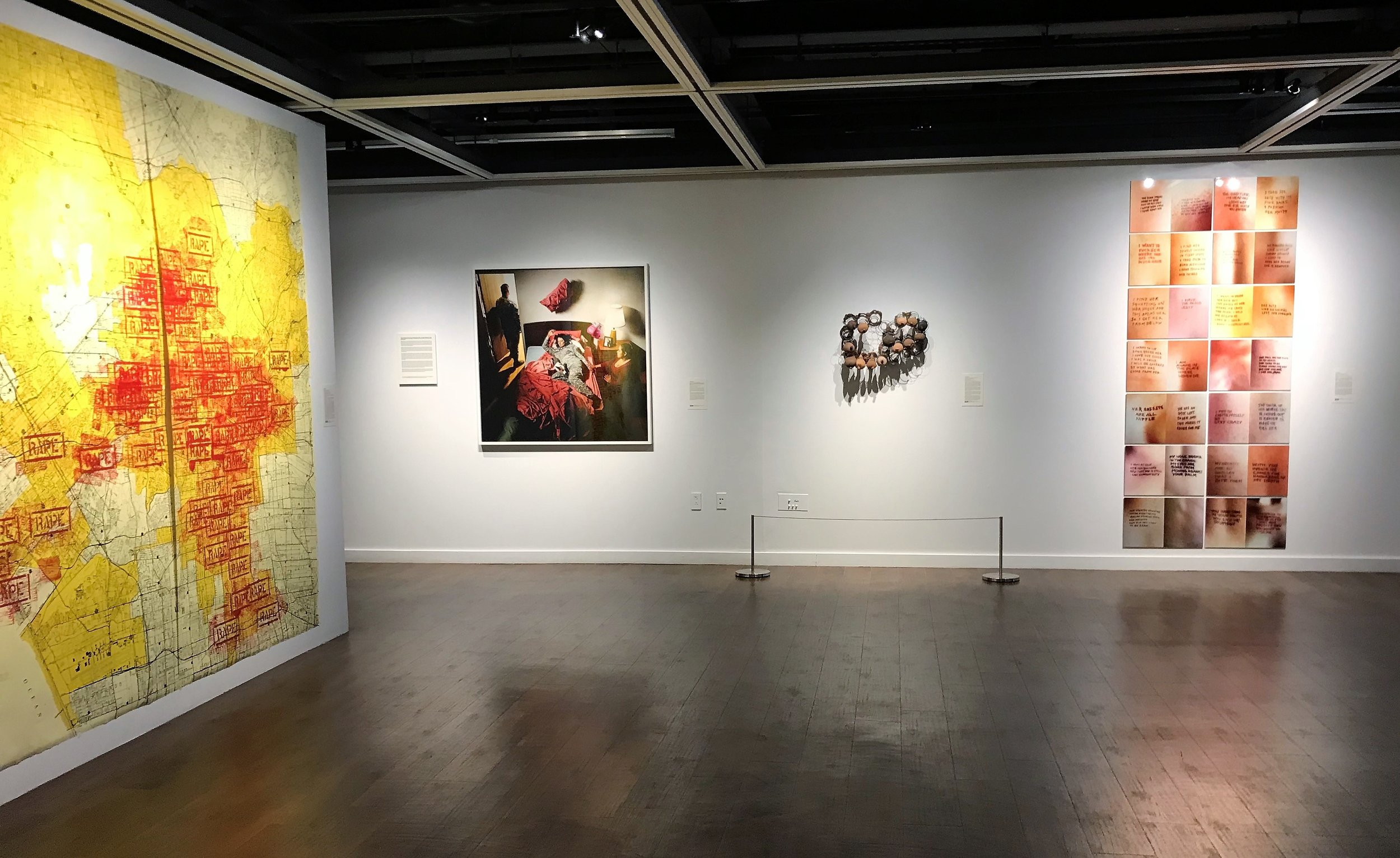 18_installation view, The Un-Heroic Act, Shiva Gallery JJC. Photo Monika Fabijanska