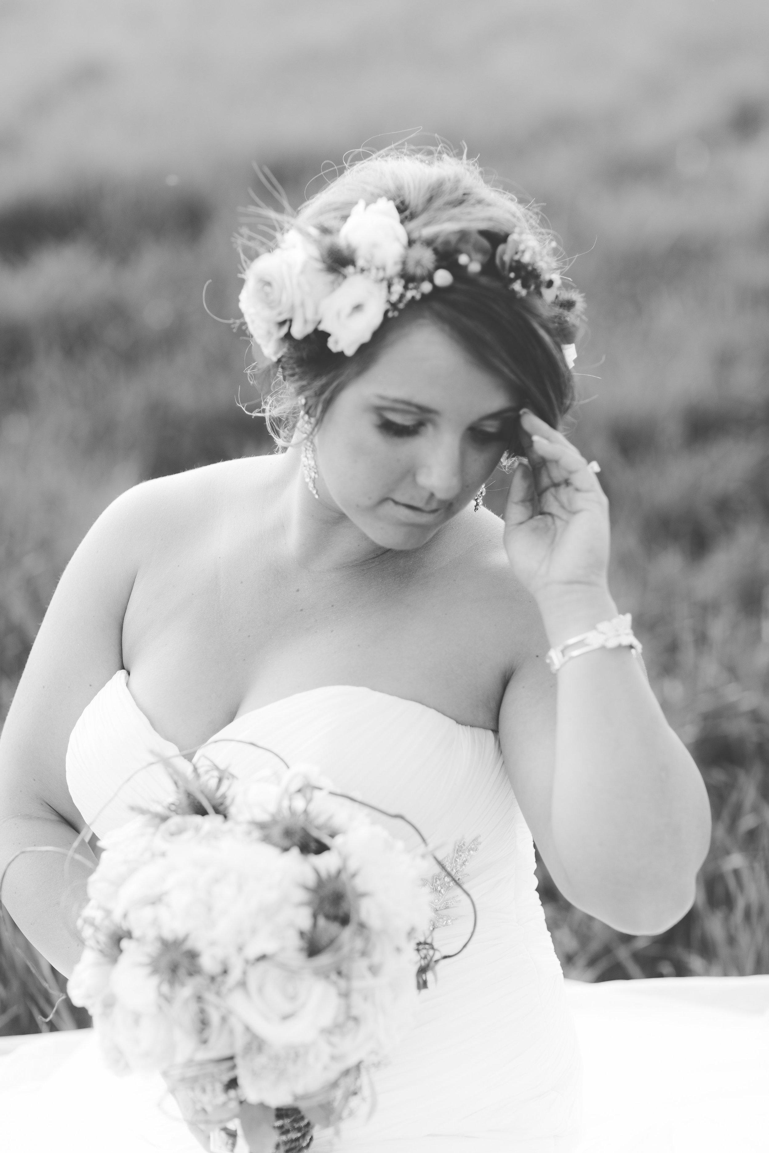 Me on my wedding! Photo taken by the amazing Meg Courtney!