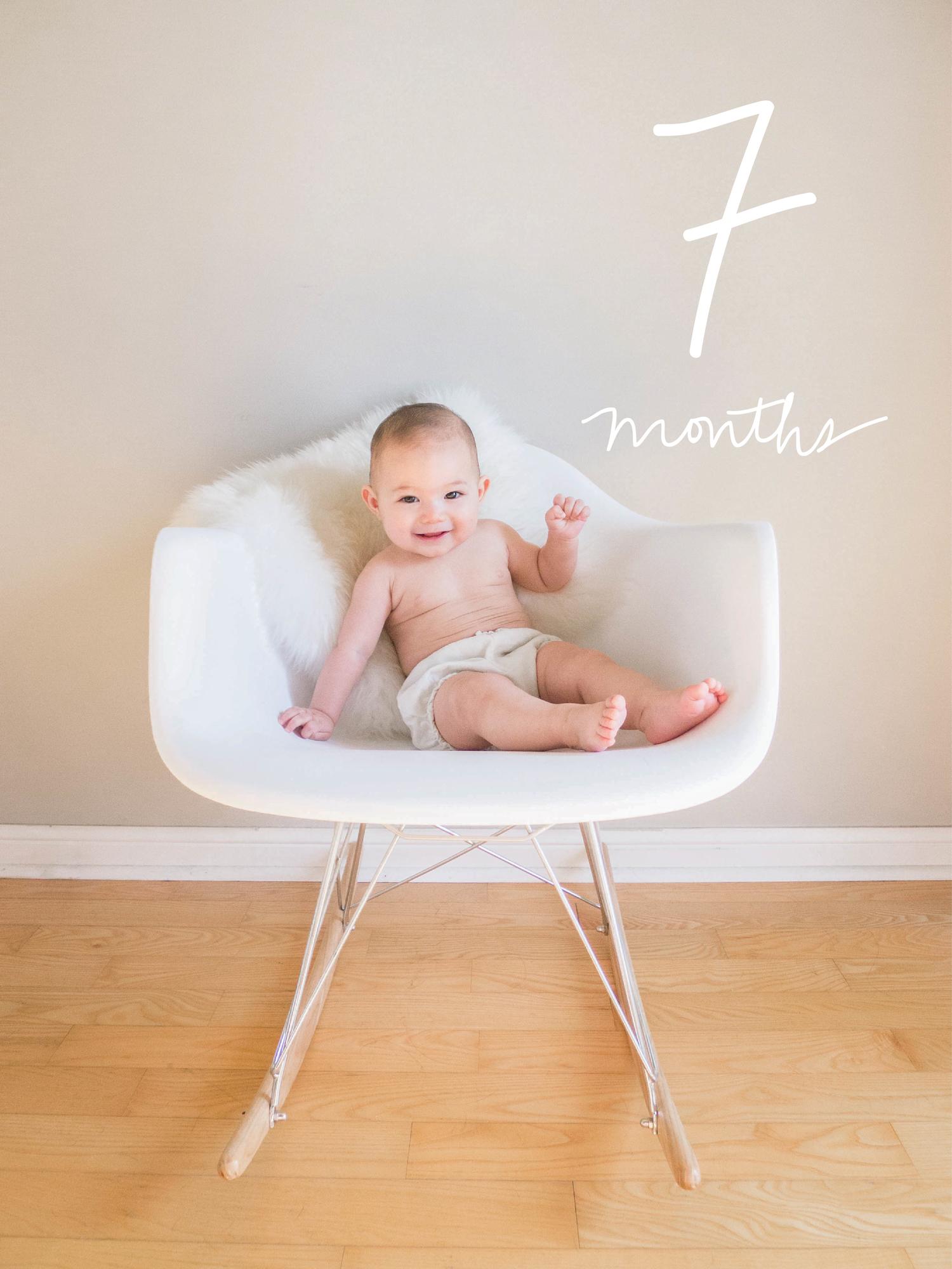 Margot at Seven Months