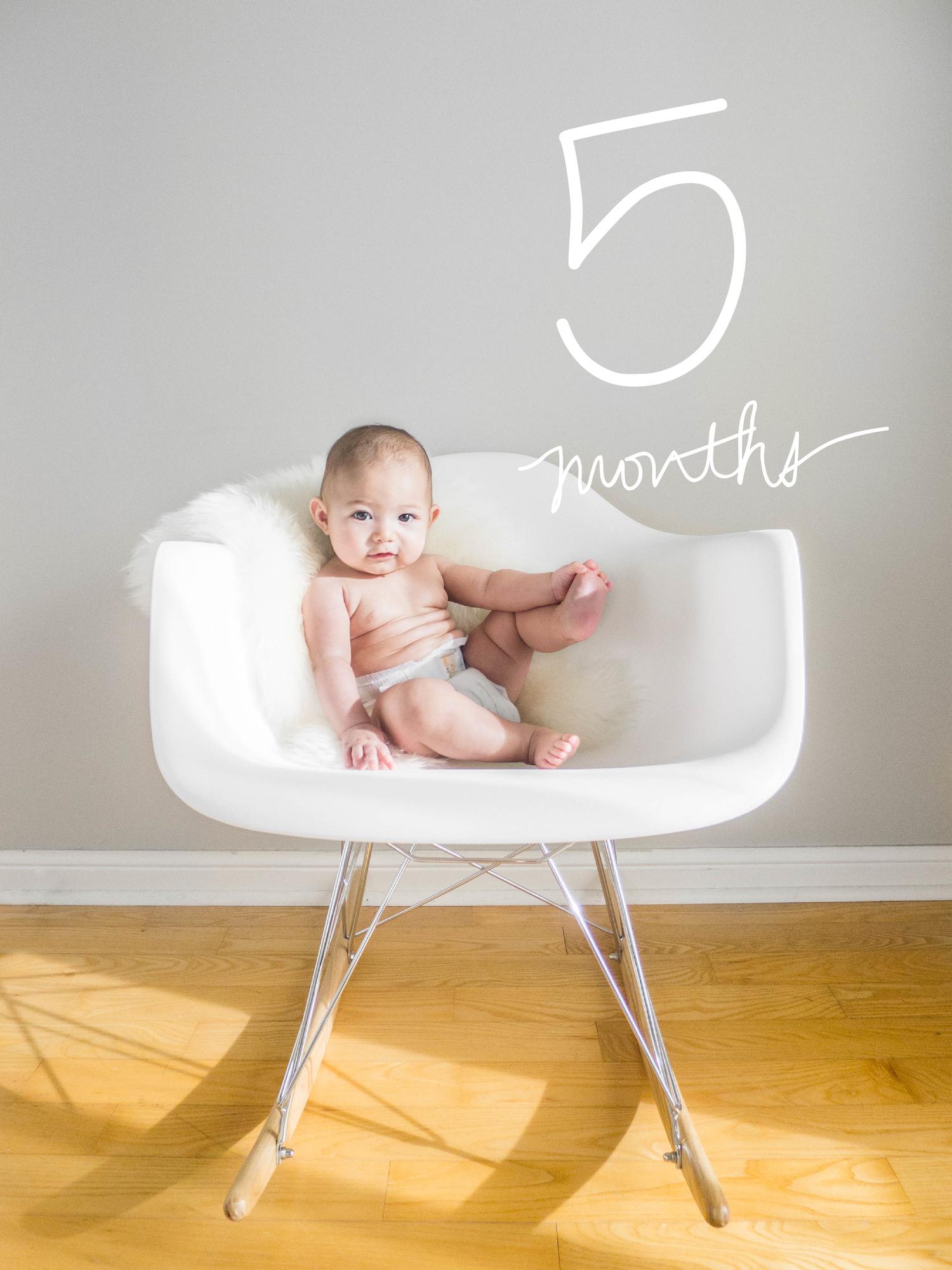 Margot at Five Months