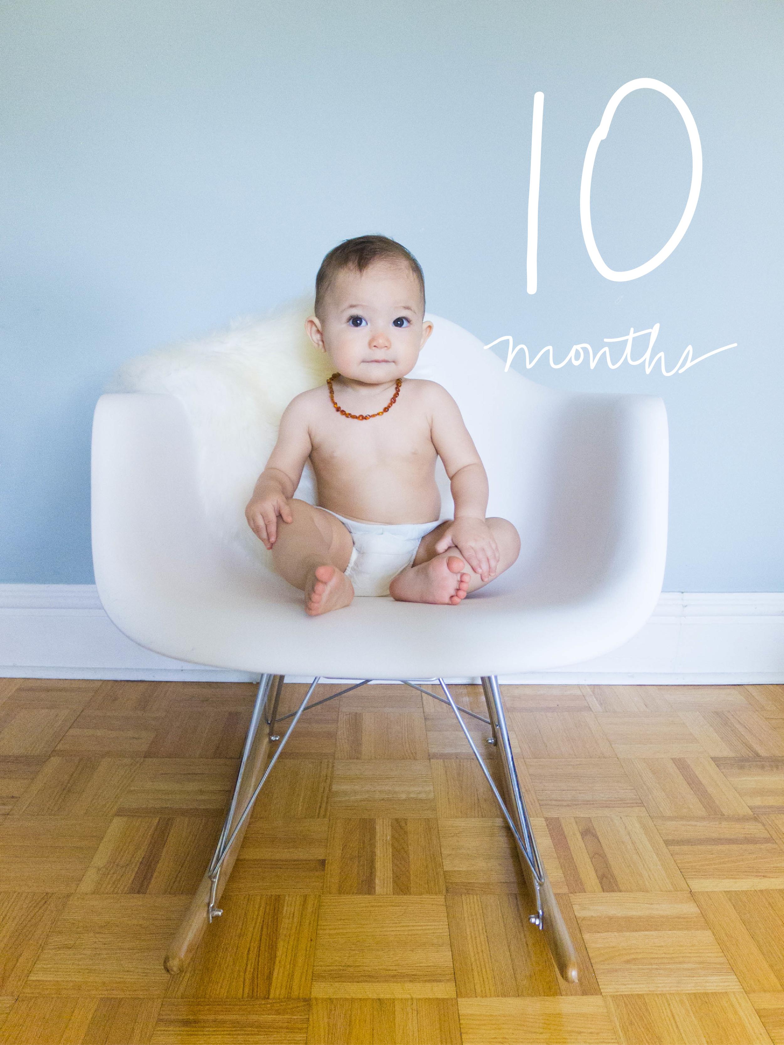 Margot at Ten Months