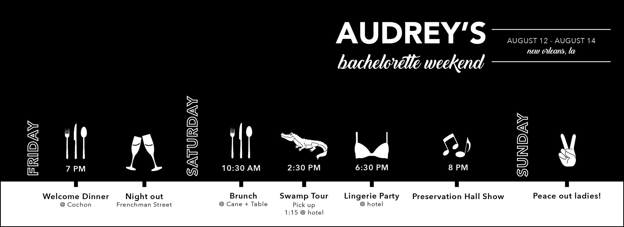 bachelorette timeline