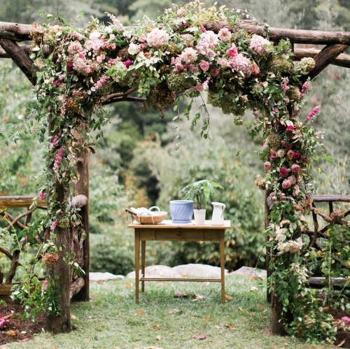 Amazing Ceremony Structures viaBrides.com Haley Sheffield