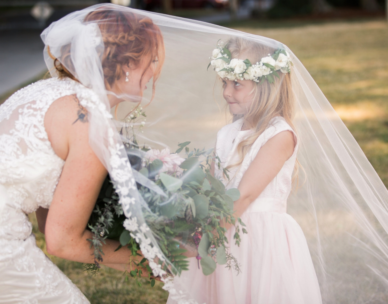 Flower girl crown-Amy Galbraith Photography