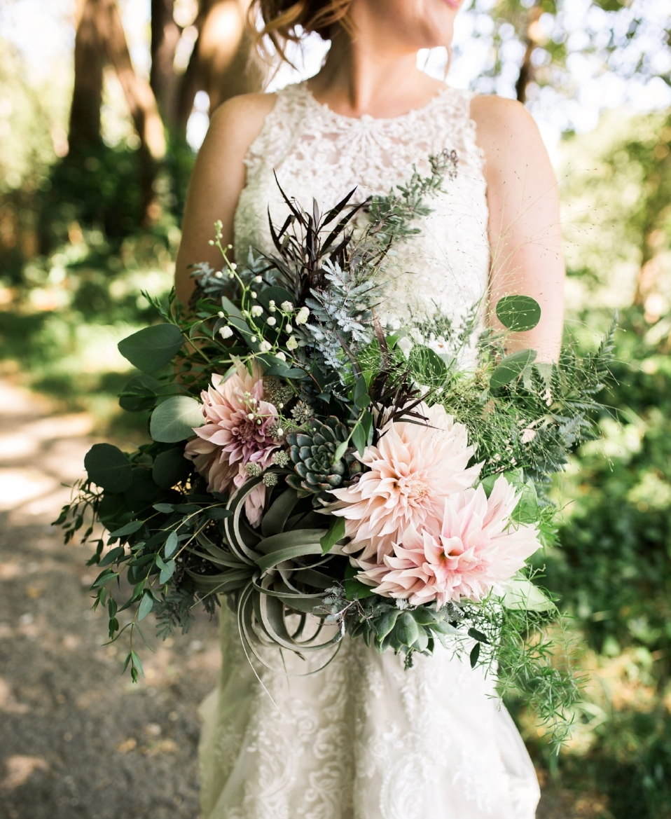 July beach wedding, blush tones,  Amy Galbraith Photography