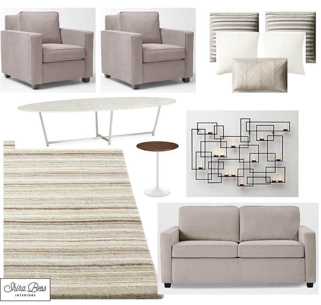 PBG Living Room - Option 1