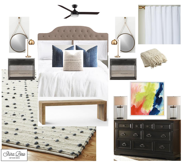 Indiana Master Bedroom - Final Design