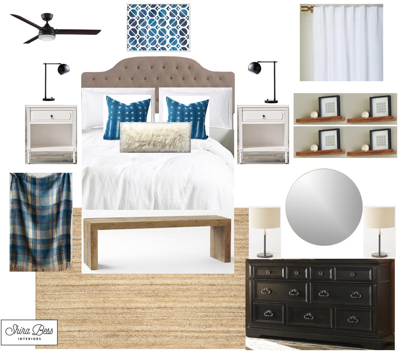 Indiana Master Bedroom - Option 3