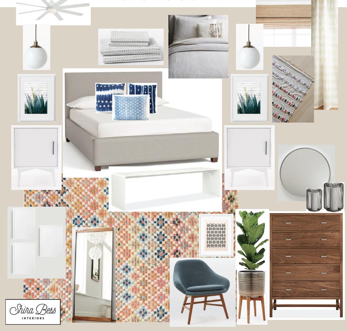 Naples Master Bedroom - Final Design