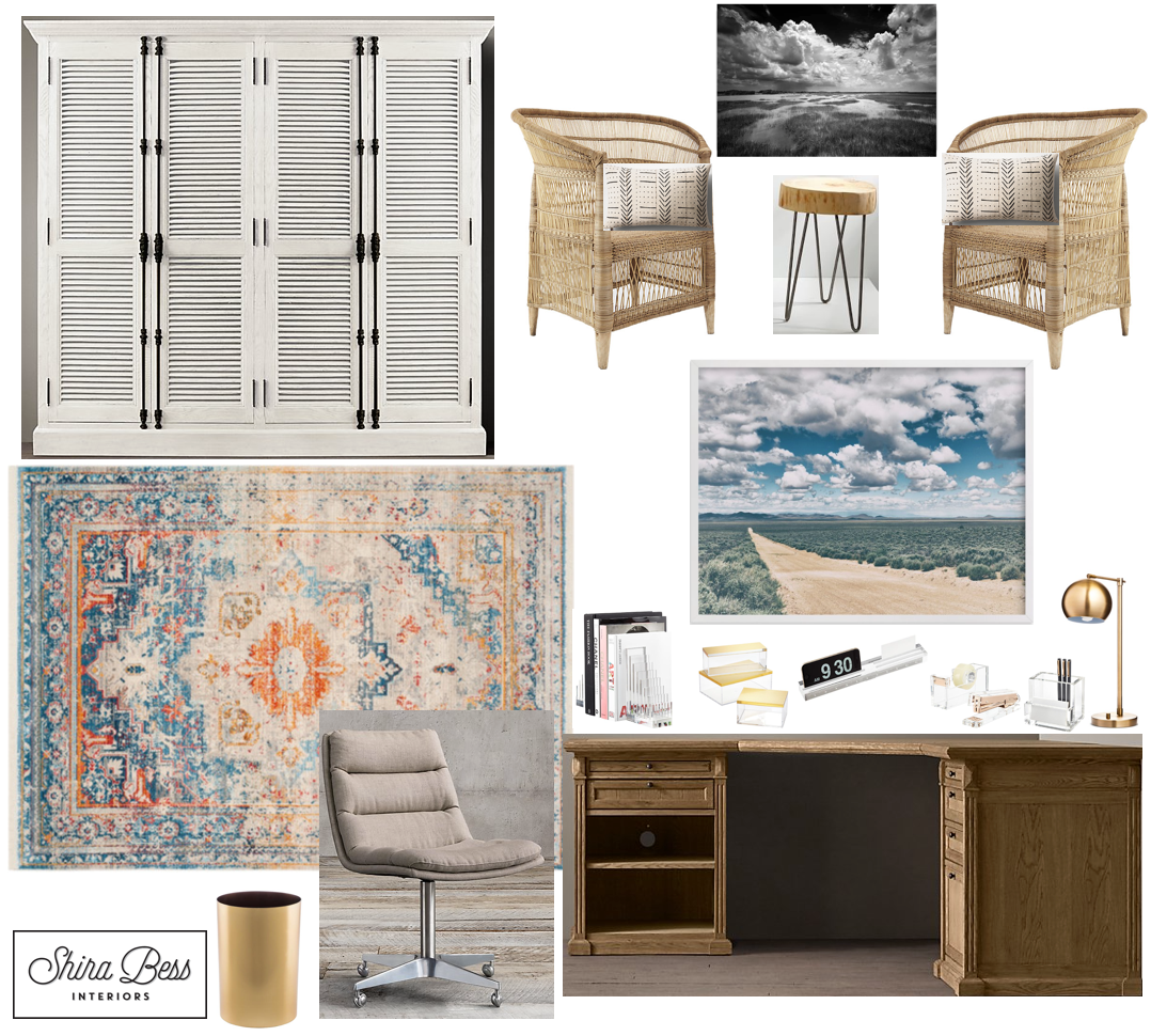 Naples Home Office - Final Design