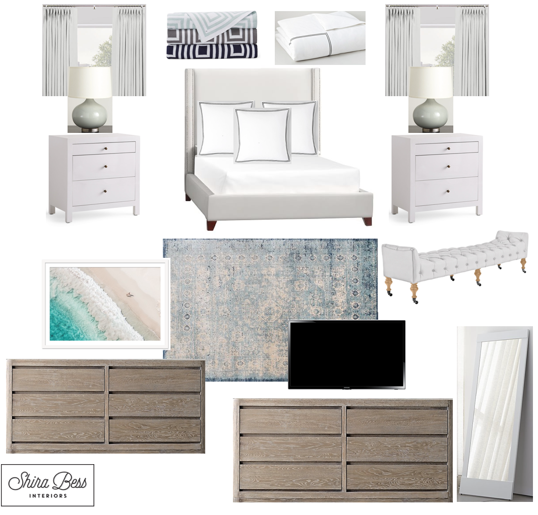 Boynton Master Bedroom - Option 1