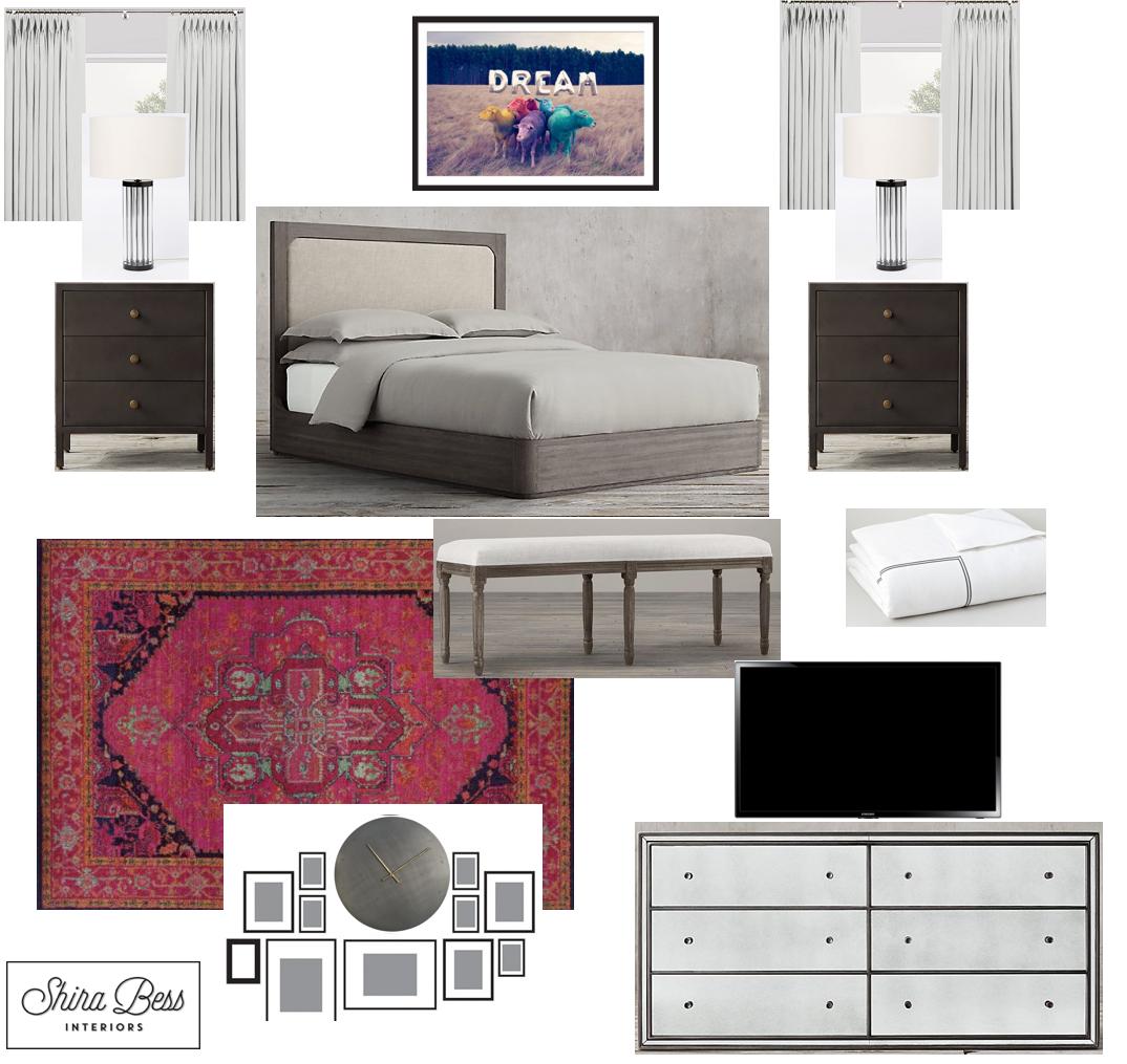 Boynton Master Bedroom - Final Design