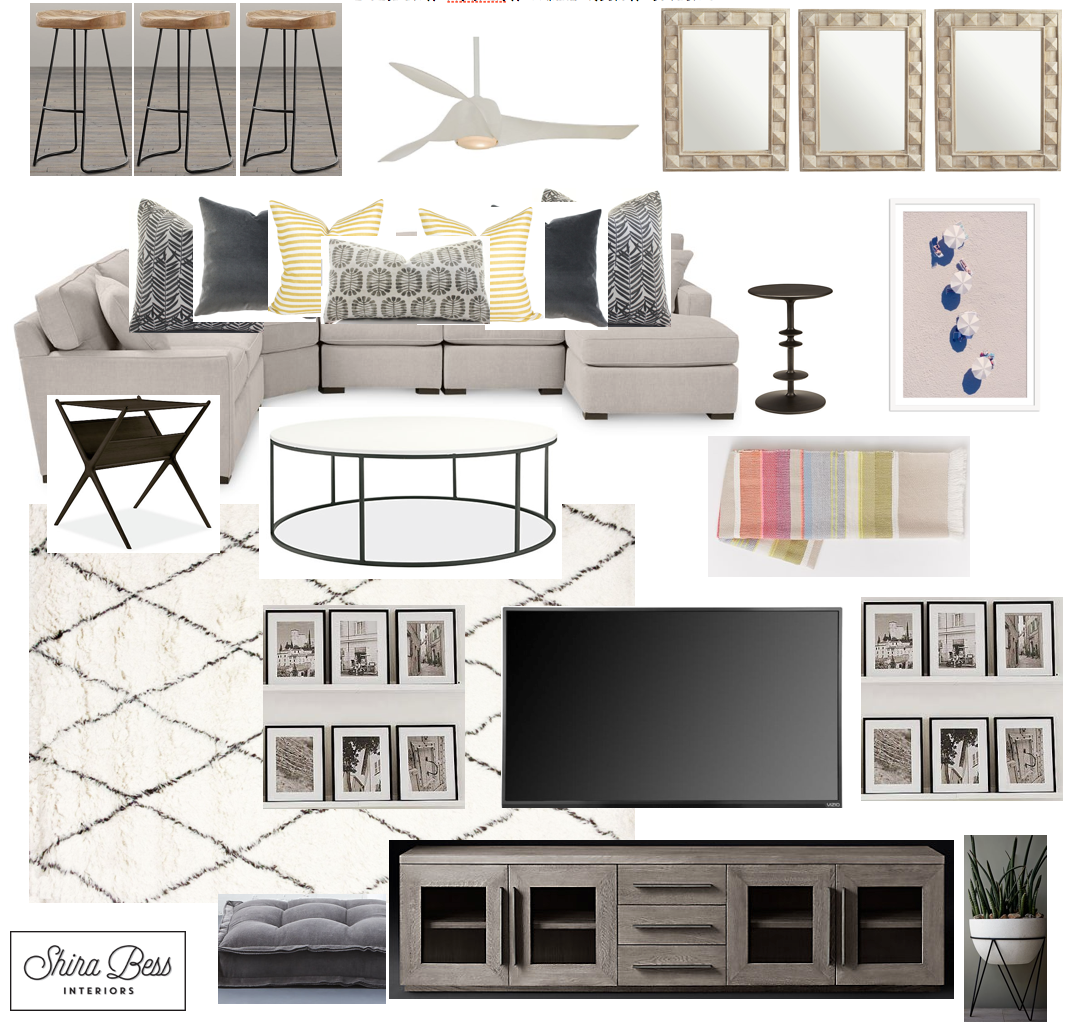 Boynton Family Room - Option 3
