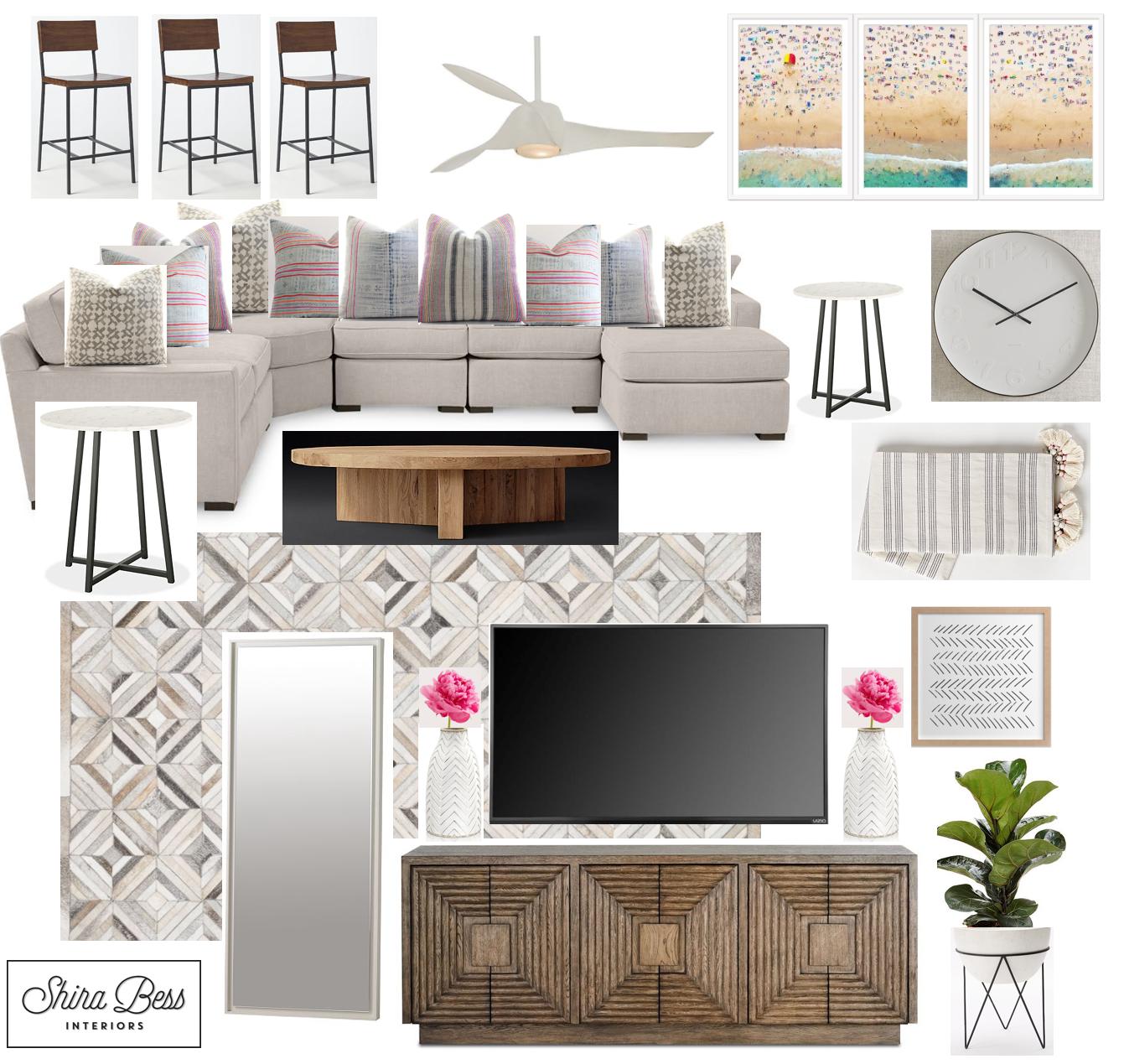 Boynton Family Room - Final Design