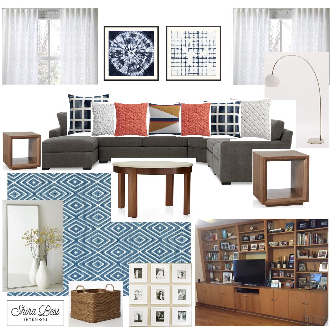 Upstate NY Family Room - Option 2