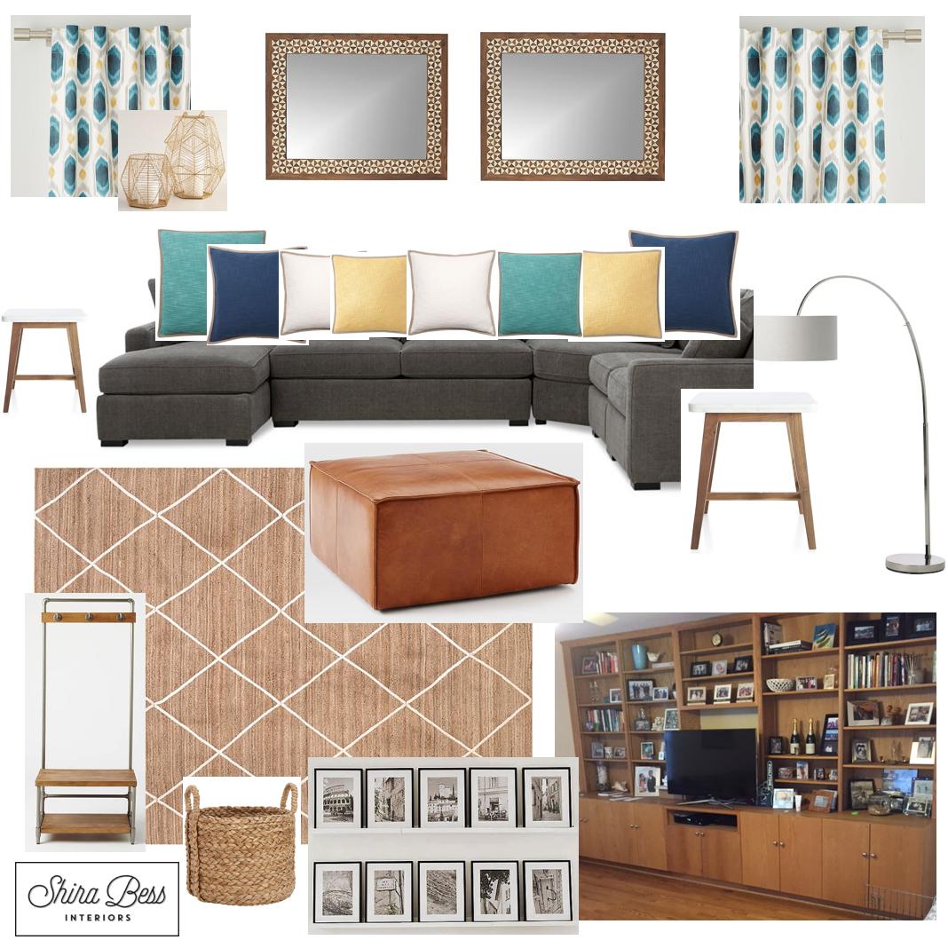 Upstate NY Family Room - Option 3
