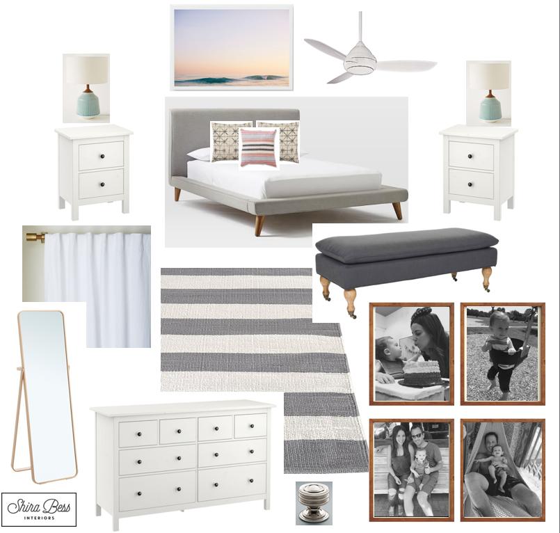 Delray Master Bedroom - Option 1