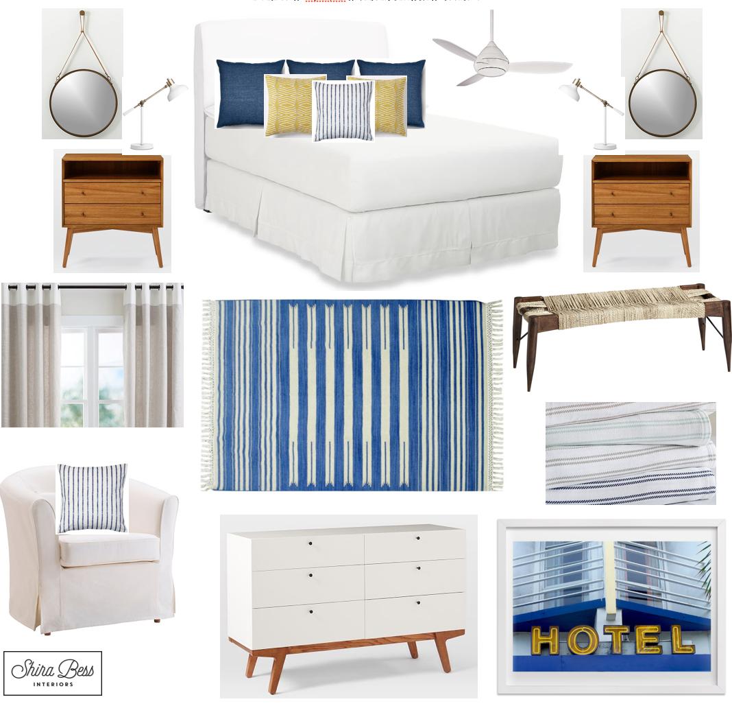 Delray Master Bedroom - Option 3