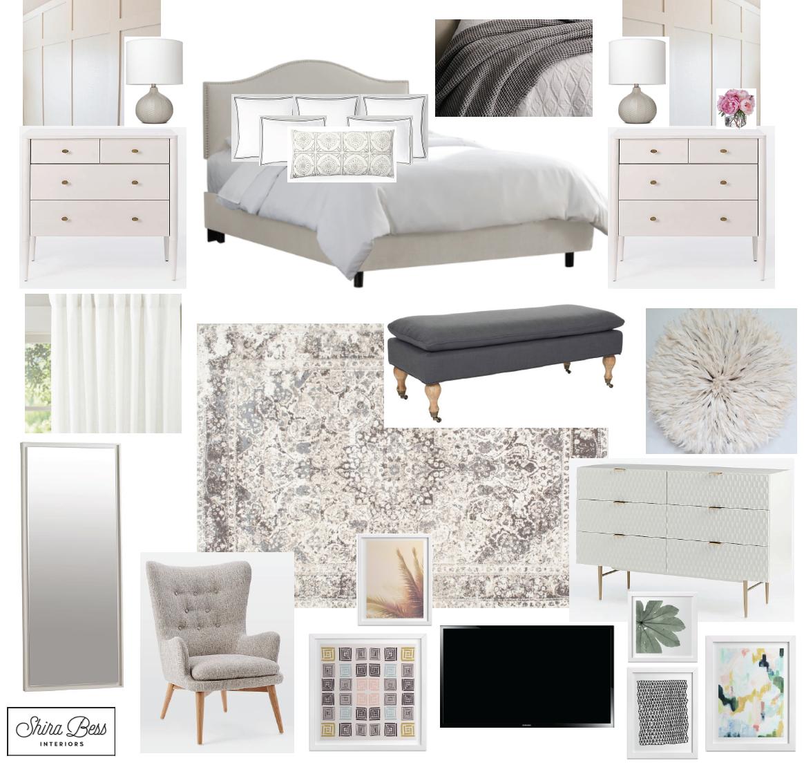 Delray Master Bedroom - Option 2