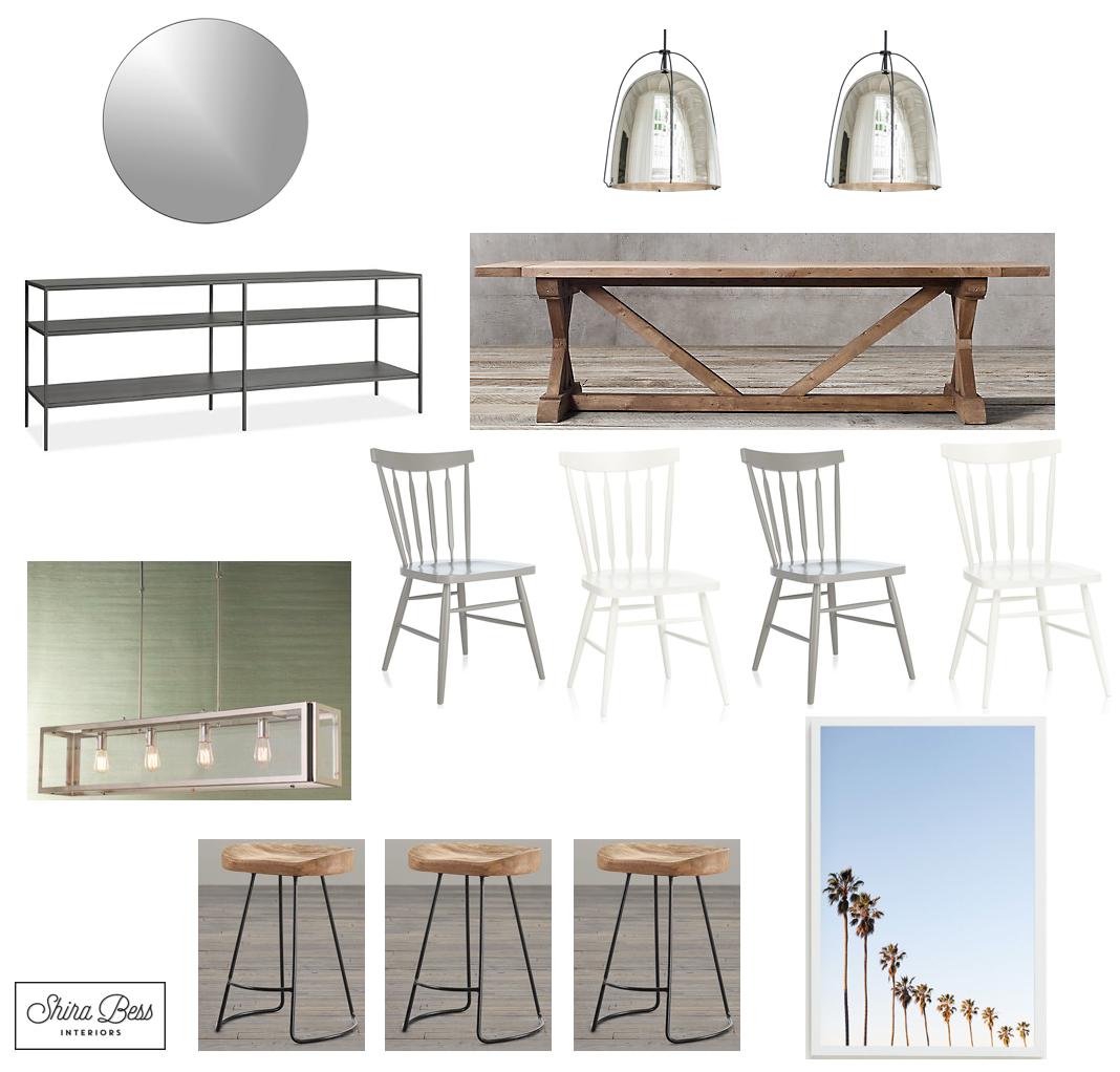 Delray Dining Room - Option 1