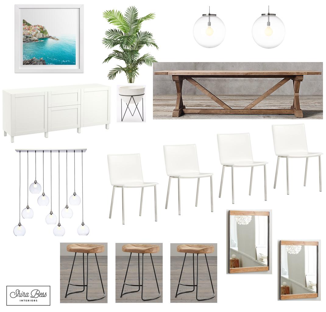 Delray Dining Room - Option 3